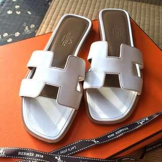 BIG SALE! Hermes Oran Sandals with Receipt