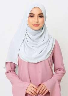 Jovian Long Shawl (Arctic Blue)
