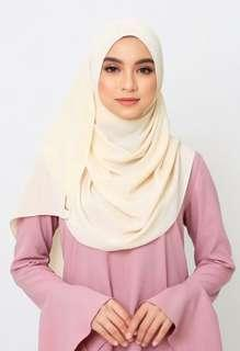 Jovian Long Shawl (Light Yellow)