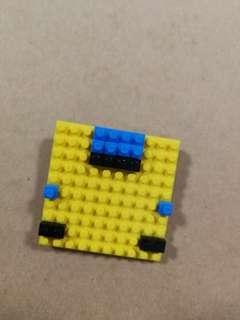 Lego Funky Brooch