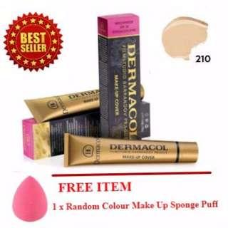 Dermacol Make Up Cover Foundation Code 210