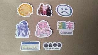 8pcs. Random Sticker Set