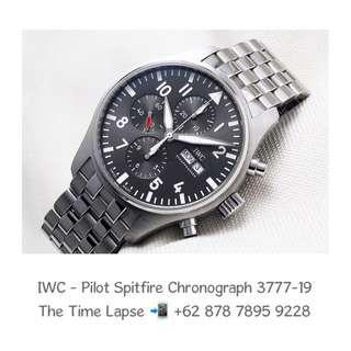 IWC - Pilot Spitfire Chronograph 3777-19