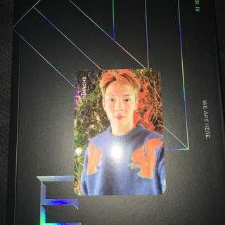 WTT/WTS MONSTA X WE ARE HERE INDIVIDUAL PHOTOCARD