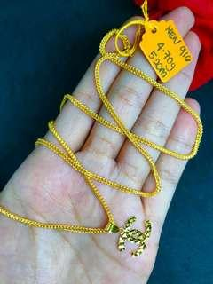 🚚 916 Gold Adult Necklace