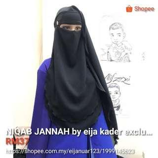 NIQAB JANNAH BY EIJA KADER EXCLUSIVE