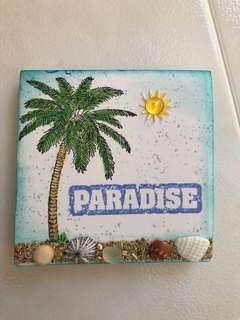 🚚 Aloha Hawaii Seashells decorated Post-it Pad