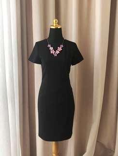 Zara Hnm Forever21 Black Dress Pesta