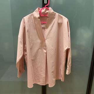 [PRICE REDUCED] WOMAN COTTON BLOUSE - PINK