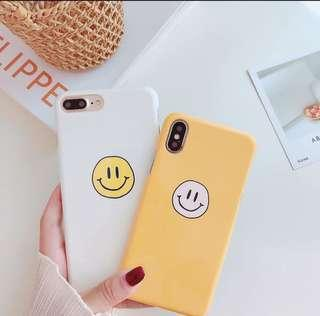 🚚 iphone smiley face hard phonecase