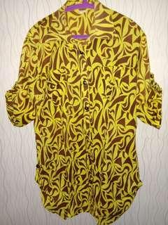 Kemeja Tribal Jumbo Big Size