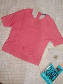 New! Petit Monde Baby Pink Top