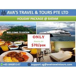 HOLIDAY PACKAGE @ BATAM