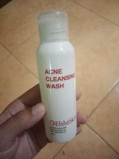 Acne facial wash elshe skin