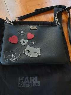 🚚 Karl Lagerfeld Sling Bag Cat