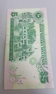 OLD CURRENCY RM5 to sell