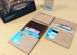 Dompet Kulit Pria - Dompet Kulit Asli - Dompet Kulit Handmade - Dompet Kulit Asli Indonesia - Dompet Pria - Simple Leather Wallet_Cenderawasih I  by BHINNEKA Leather