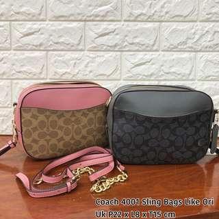 TERMURAH!!!! MUSTHAVE!!!! Coach sling bag tas import wanita