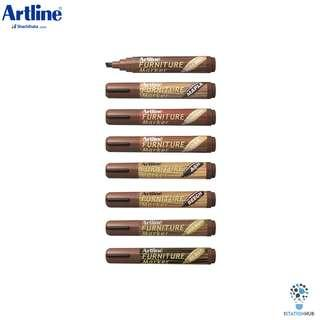 Artline Furniture Marker Pen | Chisel Nib | 8 Colours | EK-95