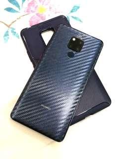 🚚 Mate 20 X Pro Carbon Fiber Texture Back Protection Film