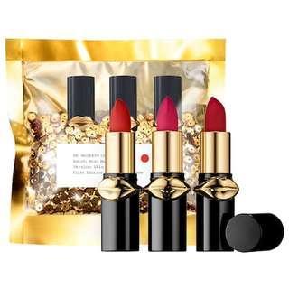 🚚 Brand New Pat McGarth Mini Lipstick Trio