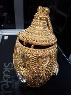 🚚 Handmade Antique Golden Bag