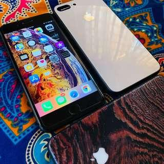 iphone 8 plus 64gb MY set perfect condition