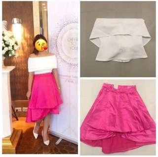 Apartment8 Top and Skirt