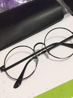 黑色眼鏡框 文青眼鏡 韓風眼鏡框