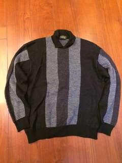 義大利scarab灰羊毛衣