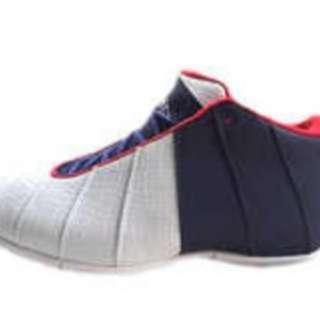 全新,沃特閃電俠籃球鞋,EU45號,1500元。