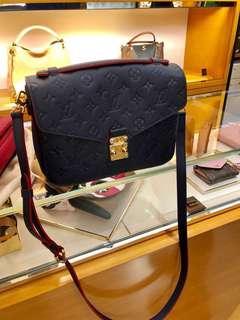 LV Louis Vuitton Pochette Métis 路爾威登深藍郵差包(可手挽及上膊用)👜💼