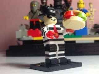 Minifigures McDonald Hamburglar🍔