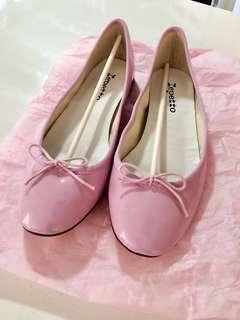 法國Repetto Ballerina Flats蝴蝶結粉紅包平底鞋 Baby Pink 仙氣 春夏季襯裙襯褲都靚