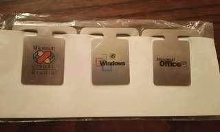 Microsoft 微軟 Office / Windows / Visual Studio 實用書夾 文件夾 萬字夾 #MTRtko