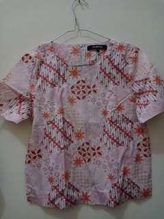 Baju batik pink
