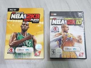 PC Games NBA 2K9 & 2K10