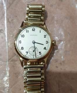 Vintage GARRARD 9ct Solid Gold Watch