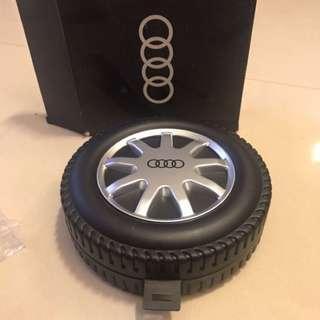全新:奧迪Audi輪胎造型小工具盒
