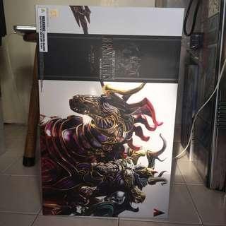 Bring arts final fantasy Odin set