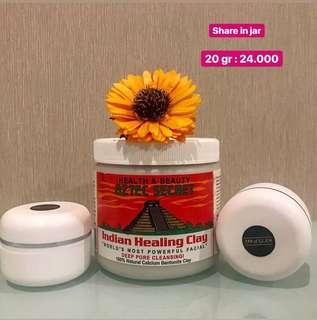 Aztec Indian healing Clay ( share in jar) 20 Gr