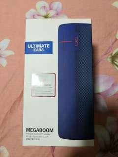 Brand new sealed UE megaboom electric blue Bluetooth speaker not bose jbl marshall