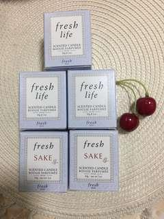 🚚 Fresh Life and  Sake Scented Candle 30g