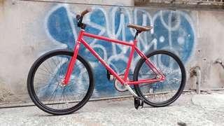 單速車 Fixed Gear 死飛車 鋼管車 二手 女用 腳踏車