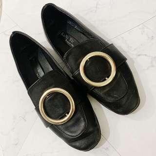 韓版尖頭皮鞋❤️