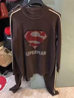 Superman set wear