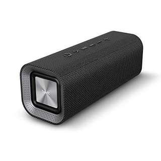 🚚 HAVIT V4.2 Bluetooth Portable Speaker 10W, Wireless Stereo Home Speaker with 14-Hour Playtime Enhanced Bass, Woven Fabric Mesh Surface, Black (M16)