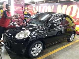 Jual santai Nissan March 2011 km25