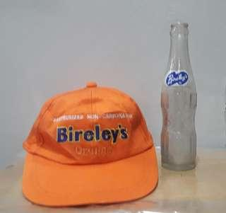 Vintage cap n bottle bireleys