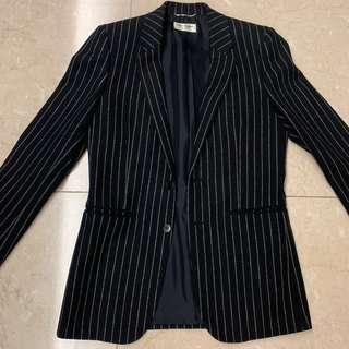Saint Laurent Paris SLP Black Stripe Jacket